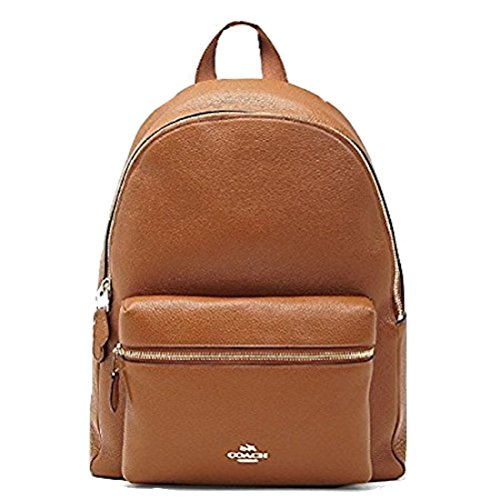 7beb427b81 Coach Charlie Backpack in Pebble Leather